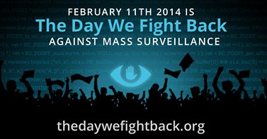 "Logo ""The Day we fight back"""