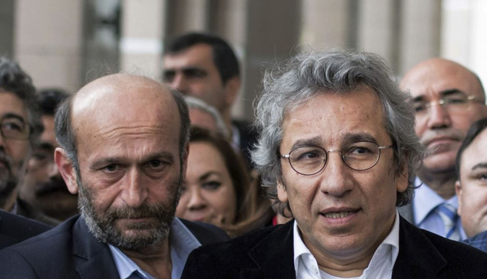 Erdem Gül und Can Dündar Foto © PEN International