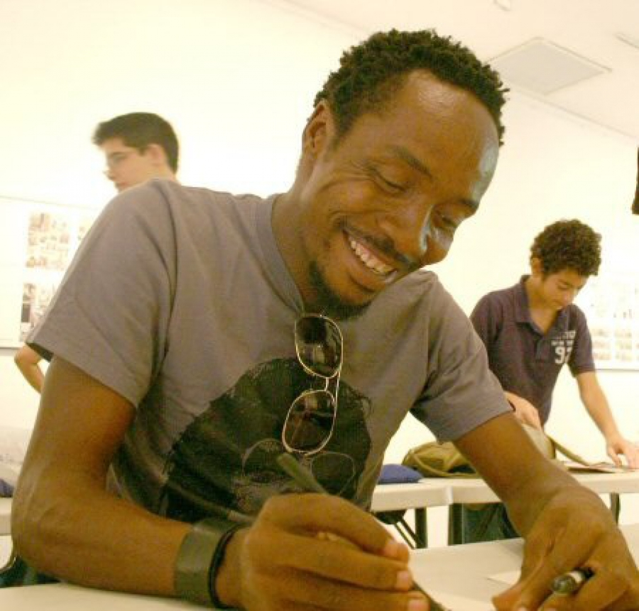 Ramón Esono Ebalé (Quelle PEN International)