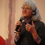 Şehbal Şenyurt Arınlı ist eine türkische Dokumentarfilmerin, Menschenrechtsaktivistin, Journalistin und seit 2017 Writers-in-Exile Stipendiatin des deutschen PEN. Foto: © PEN-Zentrum Deutschland